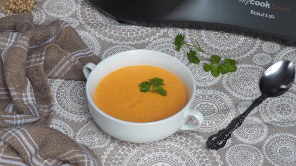 crema de gambas con mycook touch receta facil