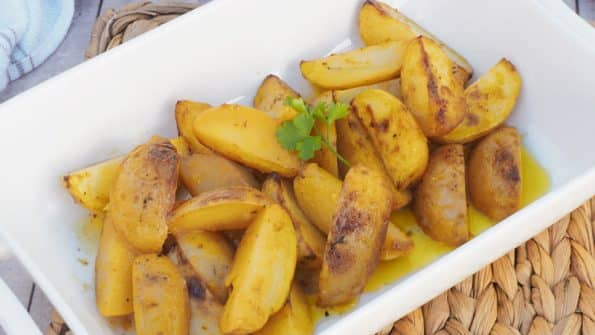 paso a paso patatas al limon faciles
