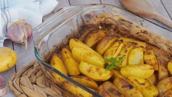 como hacer patatas al limon en el horno