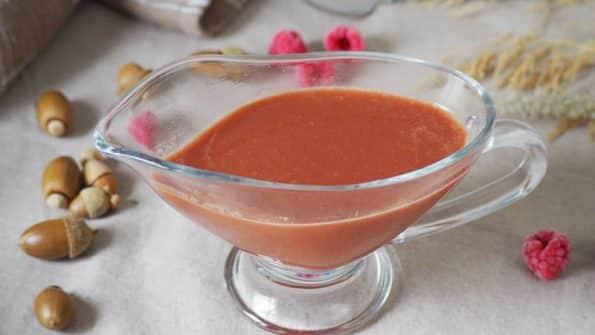 receta paso a paso salsa de frambuesas