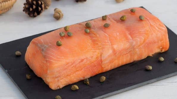 como se hace el pastel de salmon y pan de molde con queso crema