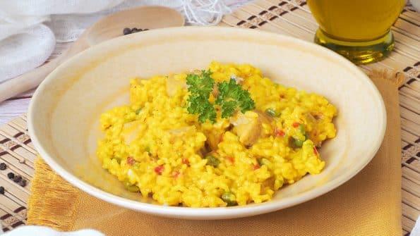 como hacer arroz con pollo con my cook touch