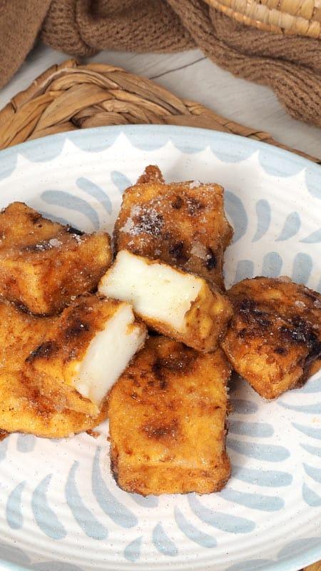 receta de leche frita para semana santa