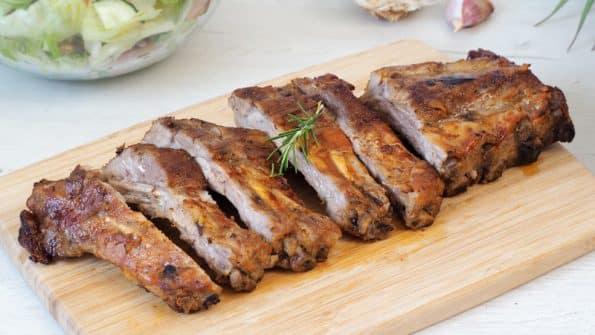 Costillas de cerdo al horno ¡Tiernas y jugosas!