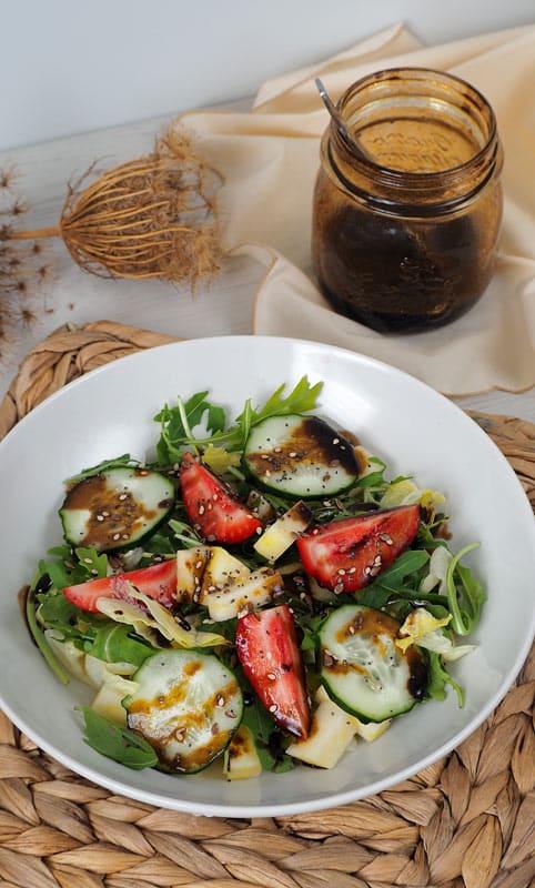 3 recetas de ensaladas con frutas y verduras de temporada