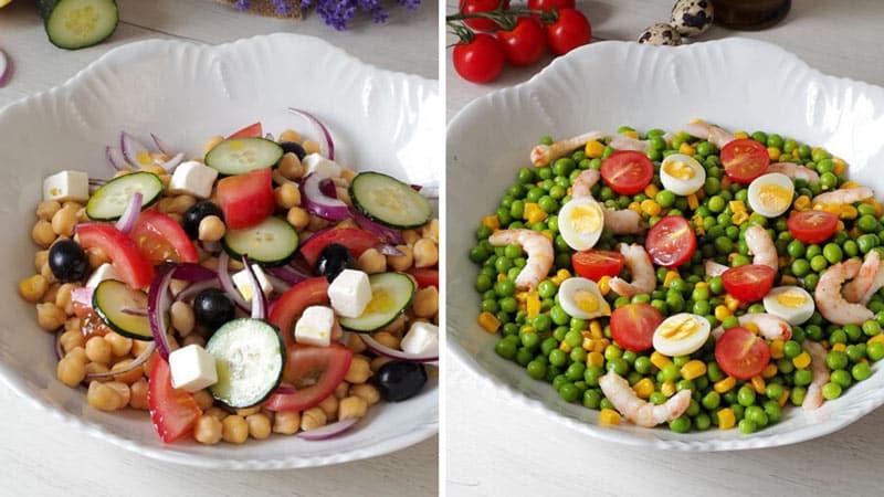 recetas de 2 2 ensaladas de legumbres