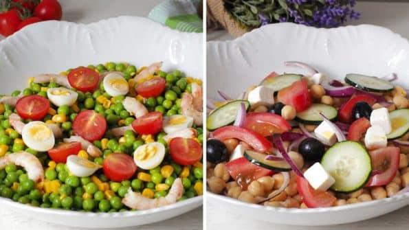 recetas de ensaladas de legumbres deliciosas