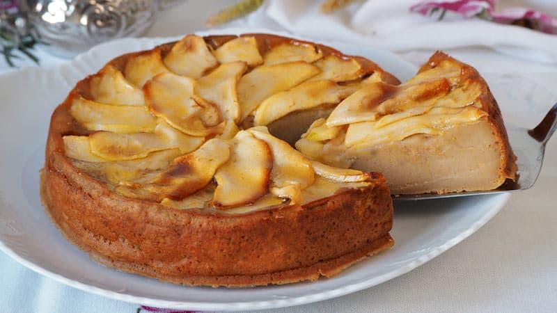 tarta de manzana facil receta