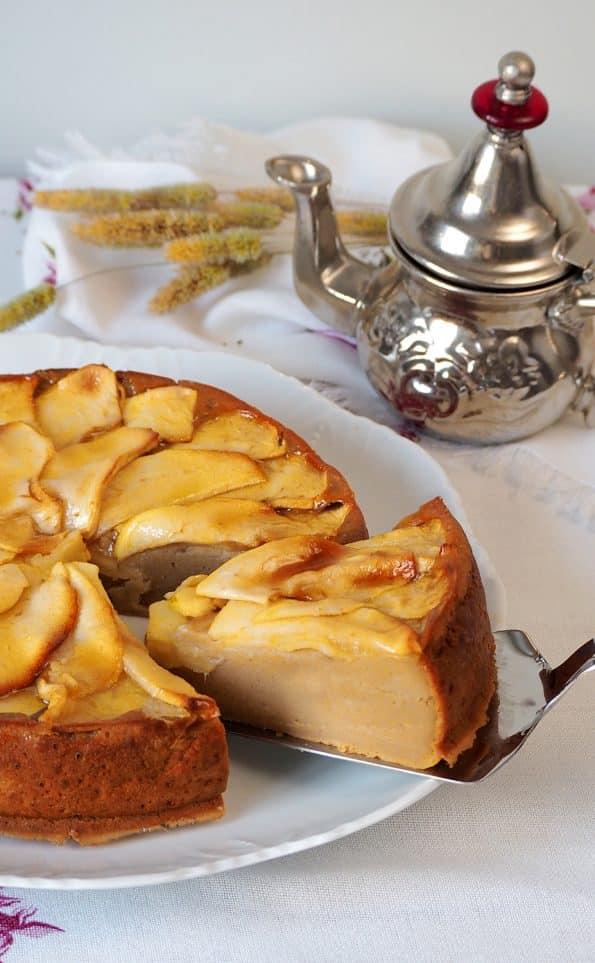 como se hace tarta de manzana facil