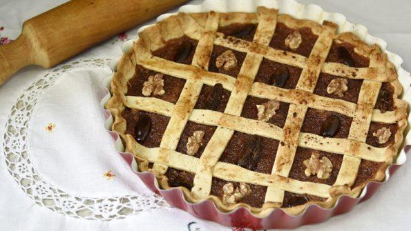 como se hace la crostata de dulce de membrillo