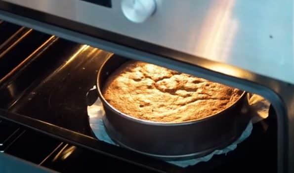 como hornear el bizcoflan de maizena en el horno