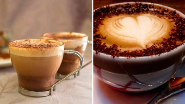 Cómo hacer un buen café Capuccino y café Moka como un profesional