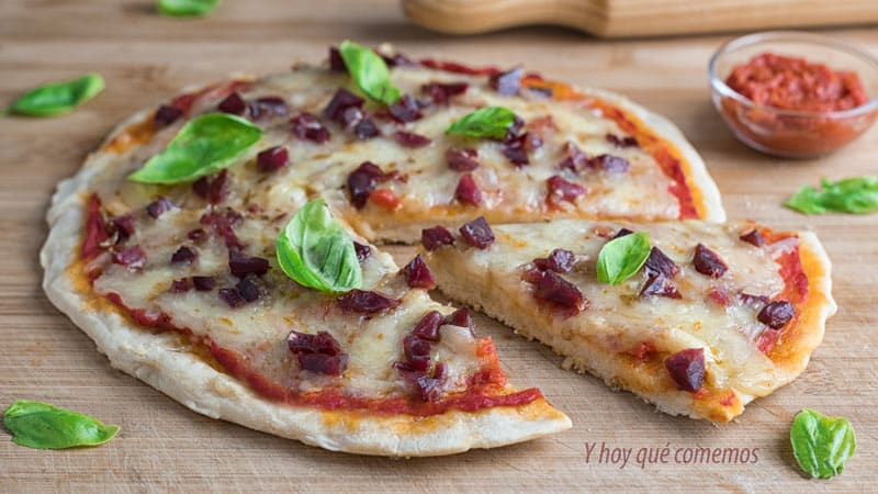 como se hace pizza en sarten