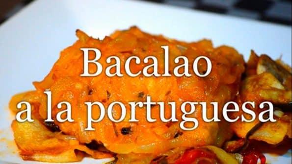 La original receta de Bacalao a la Portuguesa