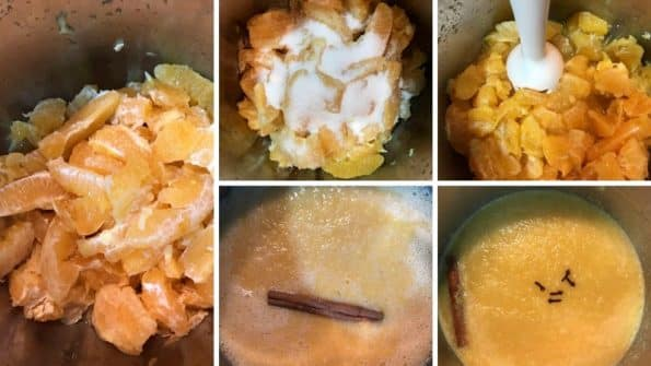 como hacer paso a paso la mermelada de naranja