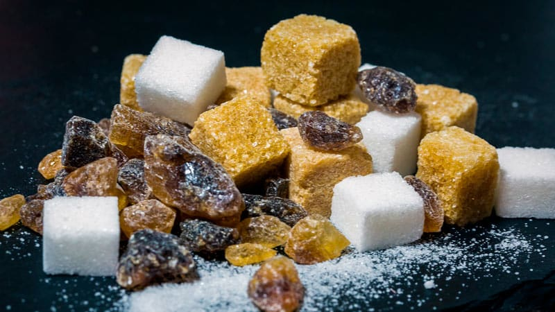 Cuáles son los tipos de azúcar que existen y en qué se diferencian