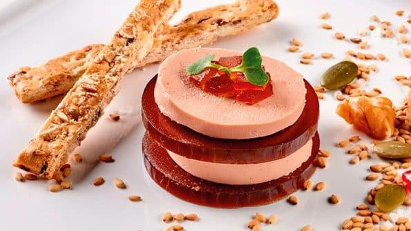 receta aperitivo de Mousse de Foie de pato