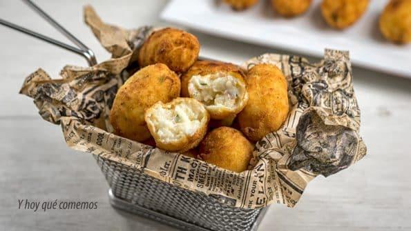 croquetas de bacalao, recetas de Y Hoy Que Comemos, blog de cocina