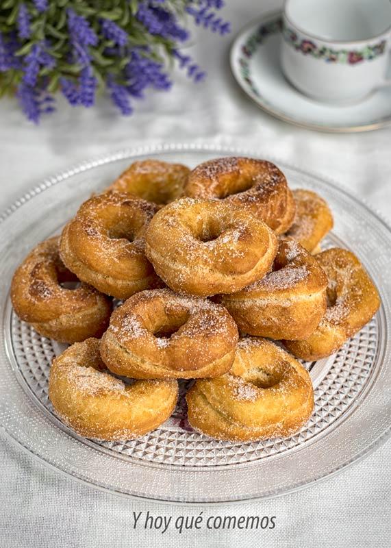 como se hacen los roscos de semana santa o rosquillas