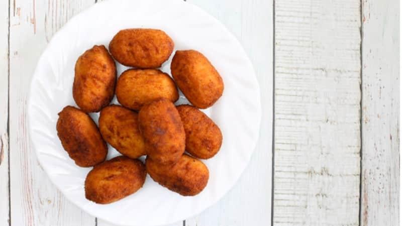 como preparar croquetas de huevo relleno de jamon serrano y queso