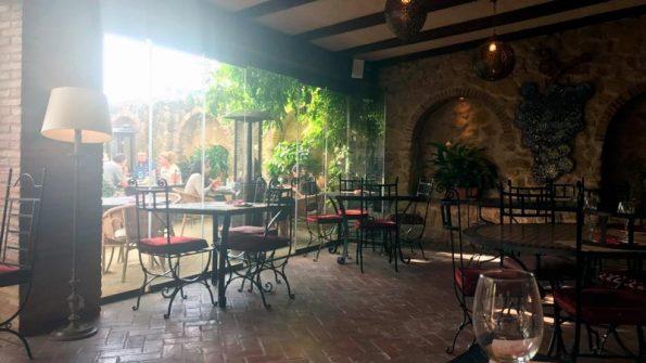 restaurante califa vejer