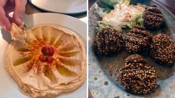 comida en el califa vejer de la frontera