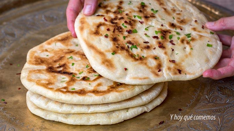 como hacer pan plano indio a la sarten