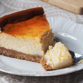 como preparar la tarta o pastel de queso de cabra